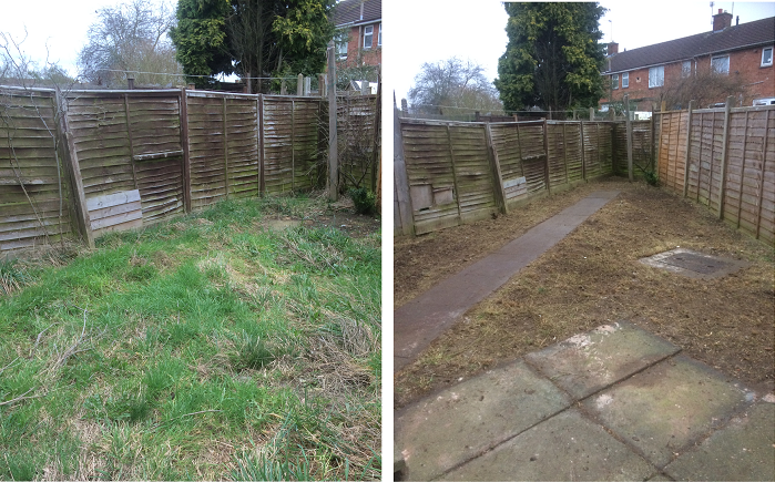 Garden clearence / tidy up- Advance Maintenance & Grounds Maintenance Leicester