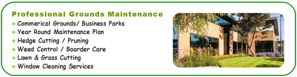 Commercial Grounds Maintenance Leicester, Lawn Cutting Services Leicestershire